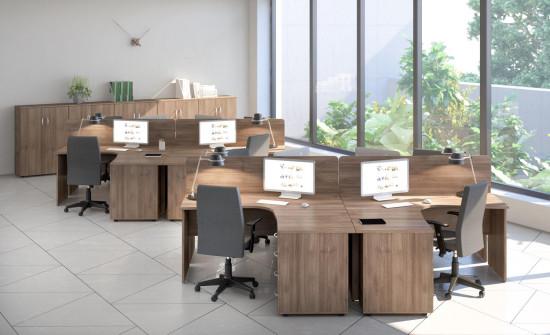 Новая серия мебели для сотрудников