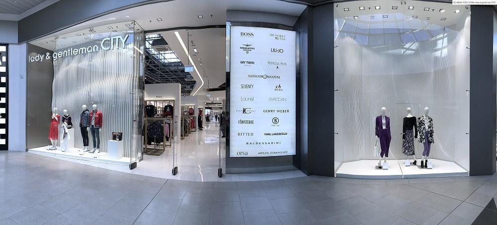 Lady&gentleman CITY открыла магазин нового формата в СТК «Мега Теплый Стан»