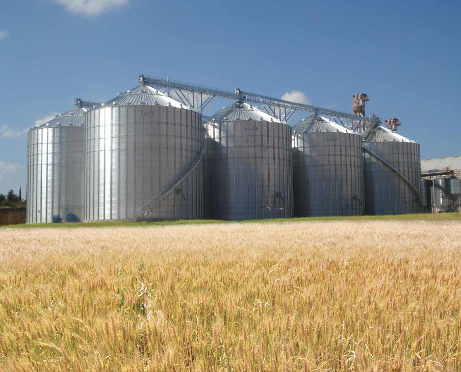 Строительство зернохранилищ — свободная ниша рынка металлоконструкций